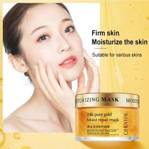 Collagen Anti-Wrinkle 24k Gold Serum Cream Sleeping Mask Whitening Facial Cream