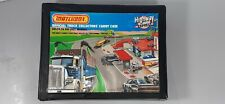 """Vintage Matchbox Collector Carry Case With 48 Cars And Trucks From 60'""""70""""80"""""""
