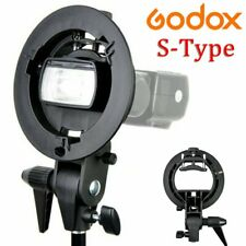 Godox S-type Bracket Bowens S Mount Holder for Studio Flash Softbox Honeycomb