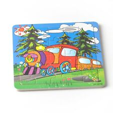20pcs Colorful Train Puzzle Jigsaw Toddler Kids Early Learning Toys Educational