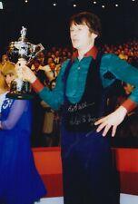 Alex Higgins Hand Signed 12x8 Photo - Snooker Autograph.