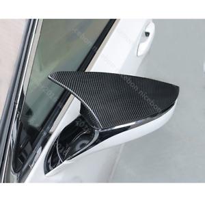 Fit For Lexus UX ES LC LS RC RS Carbon fiber color Rearview Mirrors Cover Trim