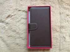 Snugg Brown Leather iPhone 6 Plus Flip Case