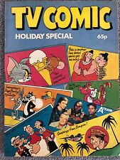 TV COMIC SUMMER HOLIDAY SPECIAL 1984 - Laurel & Hardy A-Team Catweazle Tom Jerry