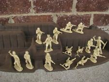 Matchbox WWII German Infantry D-Day 1/32 54MM Set Toy Soldiers