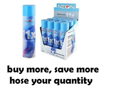 NEON 11X Refill Butane Lighter Fuel Universal Adapter 11 X Refined 300ml 10.14oz