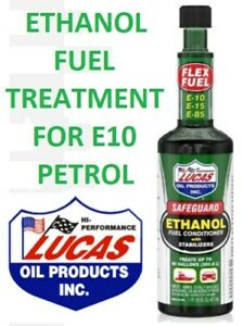 Lucas Safeguard™ New E10 Petrol Ethanol Fuel Conditioner With Stabilizers 473ml.