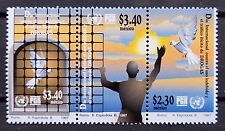 Mexico 1997 International Day Against Illegal Drugs Freedom Pigeon Strip-3 Mnh