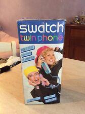 Rarissimo telefono Swatch Twin Phone deluxe bianco in box come nuovo collezione