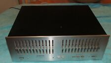 New ListingVintage Pioneer Silver Face 12 Band Graphic Equalizer Sg-9800 *Mint L@K*
