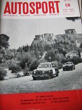 Autosport June 2nd 1961 *Nurburgring 1000 km's & Acropolis Rally*