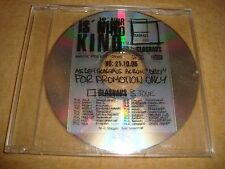 GLASHAUS - Is Nur Kino  (Promo-Maxi-CD)  Bandmix Radio Edit