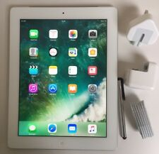 EXCELLENT Apple iPad 4th Generation 32GB,Wi-Fi + Cell (Unlocked), 9.7in - White.