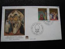 VATICAN - enveloppe 1er jour 7/4/1987 (B14)