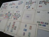 Nystamps French Guiana many mint old stamp collection Scott page