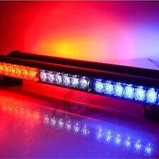 12V 2*18 LED Light Bar Roof Magnetic Emergency Beacon Warning Light Flash Strobe