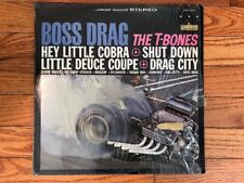 The T-Bones ‎– Boss Drag 1964 Liberty ‎LST-7346 Jacket/Vinyl NM-