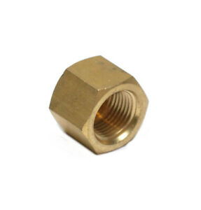 3/8 Female Npt Pipe End Cap Brass Fitting Fuel Air Water Oil Gas Vacuum