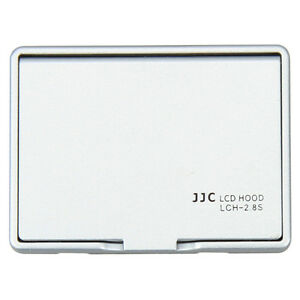 JJC Silver Universal LCD Hood for 2.7 2.8 inch LCD Screen Display DSLR Camera
