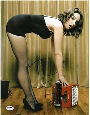 Tina Fey Signed Authentic Autographed Sexy 11x14 Photo PSA/DNA #AA68824