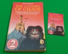 The Citadel of Chaos ***STAR COVER!!*** Fighting Fantasy Puffin #12