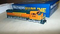 WALTHERS HO GAUGE 910-9703 BNSF SD60M DIESEL IN ORIGINAL BOX..