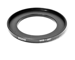 Stepping Ring 49-67mm 49mm to 67mm Step Up Ring Stepping Rings 49mm-67mm