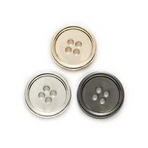 5pcs Round Metal Buttons for Sewing Leather Clothing Handwork Gift Decor 10-25mm