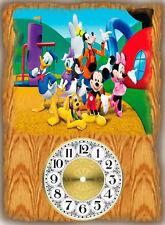 Walt Disney Cartoon characters Wall Clock  Makes Great Gifts