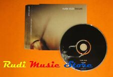 CD Singolo RUDE CLUB Locust 1997 BIME/MCPS SACRED014CDP  mc dvd (S7)