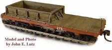 HOn3 WISEMAN MODEL SERVICES RS483 WEST SIDE LUMBER CO. SAND & GRAVEL CAR 276 KIT