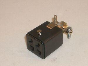 CINCH JONES BEAU MOLEX S-304-CCT 38331-8004 POWER SOCKET 4 PIN FOR YAESU KENWOOD