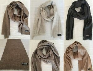 Natural Colour Cashmere Men Women Scarf Warm,Soft,Light  65x14 Inches