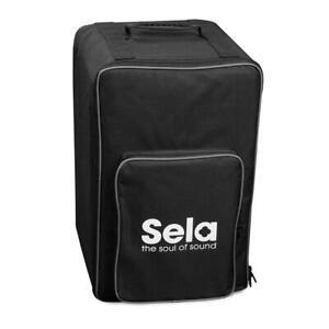Sela SE 090 Cajon Rucksack Gigbag Tasche Percussion Nylon Bag Tragegurt schwarz