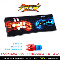 Pandora's Box 3188 in 1 Classic Games 4 Players Retro Arcade VGA Console For PC