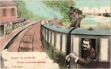 CPA  Je pars de Cahors et vous envoie mes Amitiés    (223567)