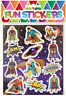24 Super Hero Sticker Sheets - Pinata Toy Loot/Party Bag Fillers Wedding/Kids