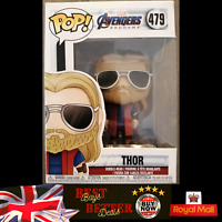 Funko Pop THOR 479 MARVEL AVENGERS ENDGAME CASUAL VINYL FIGURE NEW