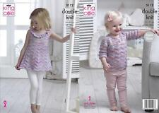 King Cole 5112 Knitting Pattern Sweater and Top in Comfort and Comfort Kids DK