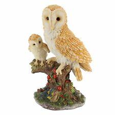 Animal Planet Adult and Baby Barn Owl Figurine Ornament  WBNC5070/AP145