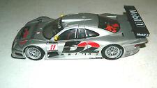 1/18 SCALE DIECAST MODEL MAISTO LOOSE MERCEDES BENZ CLK GTR RACE CAR  SILVER