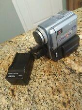 SONY Digital Handycam DCR-PC9 Camcorder NTSC Carl Zeiss Lens, MiniDV TESTED