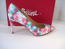 Jerome C. Rousseau Morier Floral Multi Nappa Pumps, Size 41, New With Box