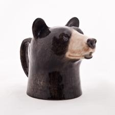 Quail Ceramics - Black Bear Jug - Small