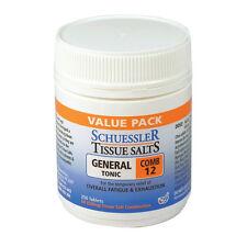 SCHUESSLER Tissue Salts Combination 12 250 tablets General Tonic Fatigue comb