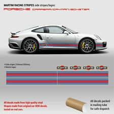 Martini Racing Side Stripes for Porsche Carrera / Cayman / Boxster