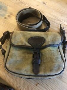 Canvas and Leather Cartridge Bag Needs TLC