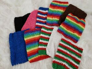 11 - Toddler Chest Wrap Baby Girl Elastic Tutu Tube Top Crochet Headbands 8 in
