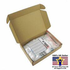100value 200pcs 3W Metal Film Resistor +/-1% Assortment Kit US Seller KITB0146