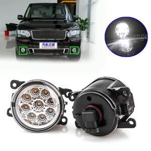 LED Front Fog Light Lamps For Land Rover Range Rover Sport L320 2010-2013 L322